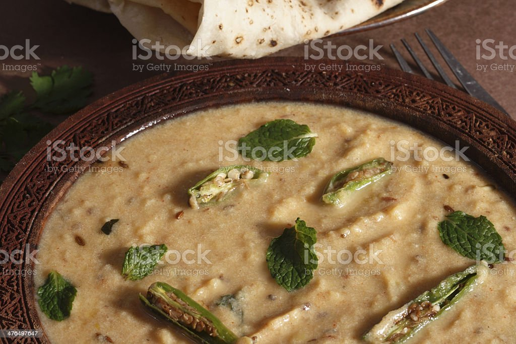 Sultani Dal is a rich variation of Arhar stock photo