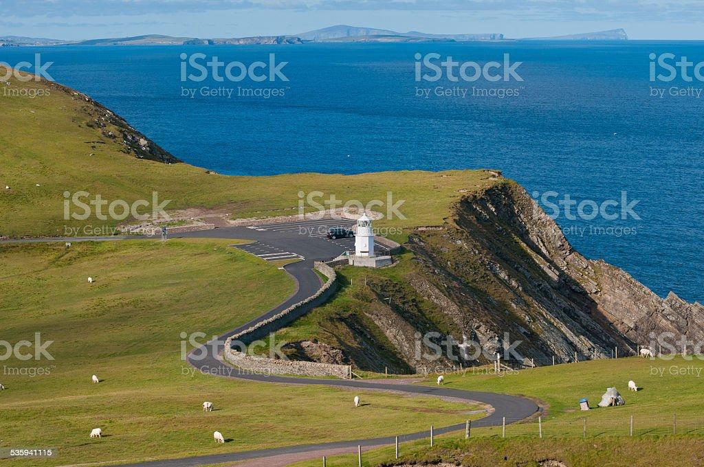 Sumburgh Head, Shetland stock photo