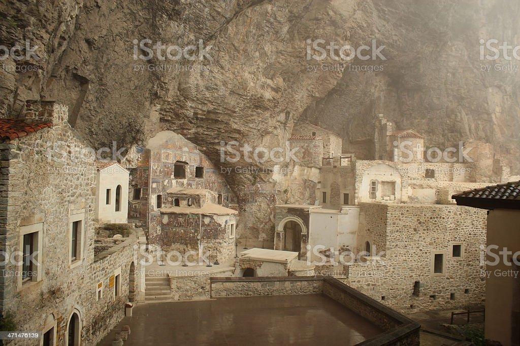 Sumela monastery royalty-free stock photo