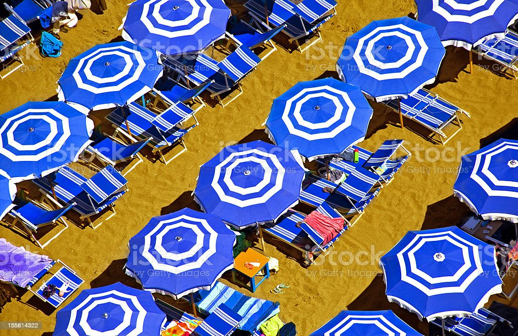 Sumertime on the beach royalty-free stock photo