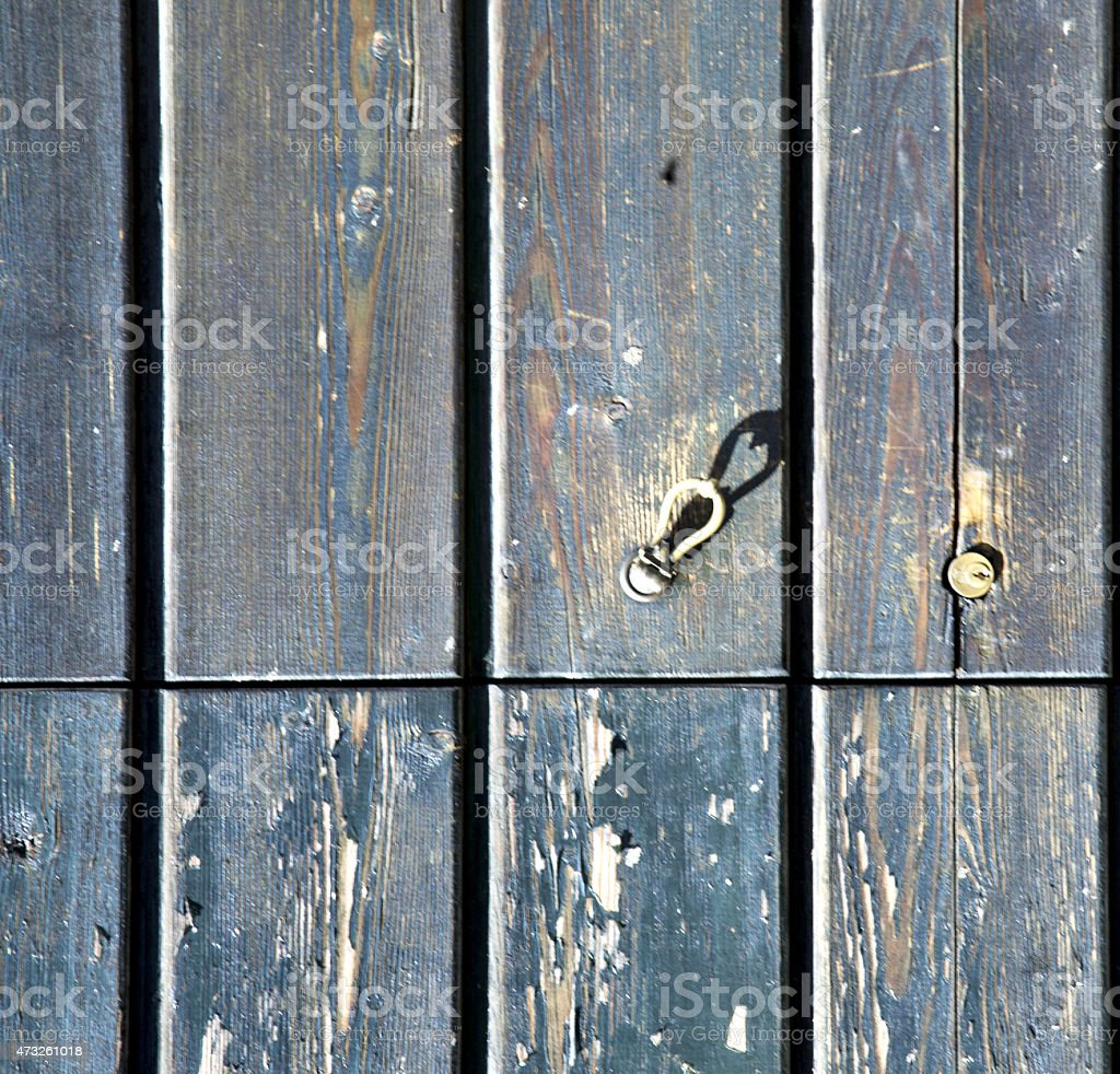 sumirago varese    closed wood  italy stock photo