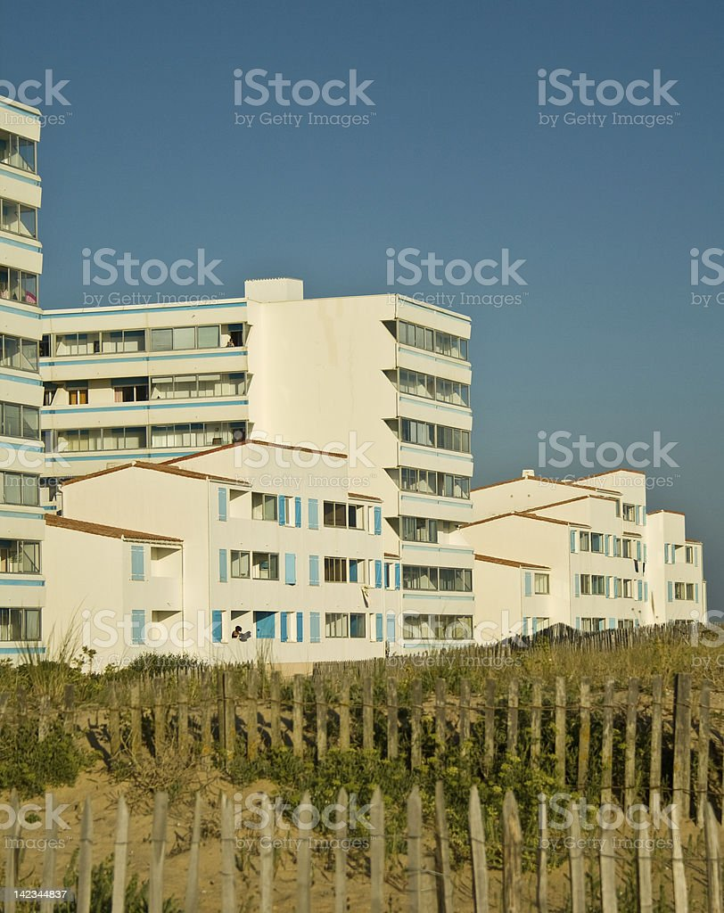 Summer Apartments stock photo
