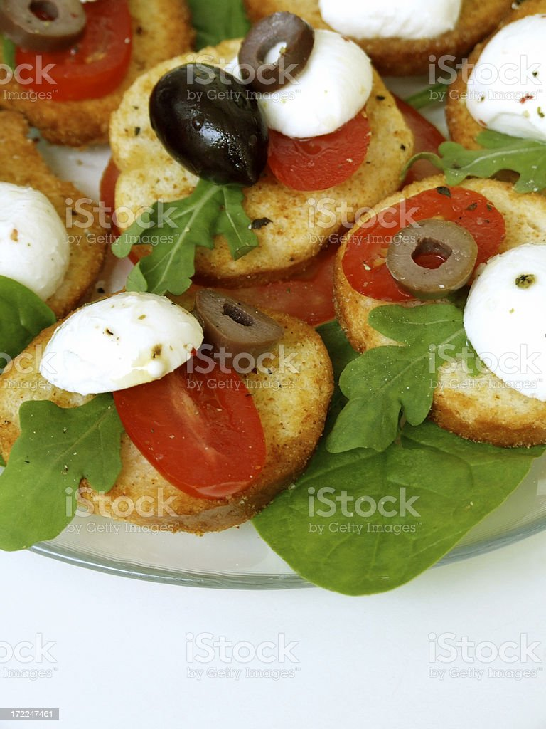 Summer Appetizer royalty-free stock photo