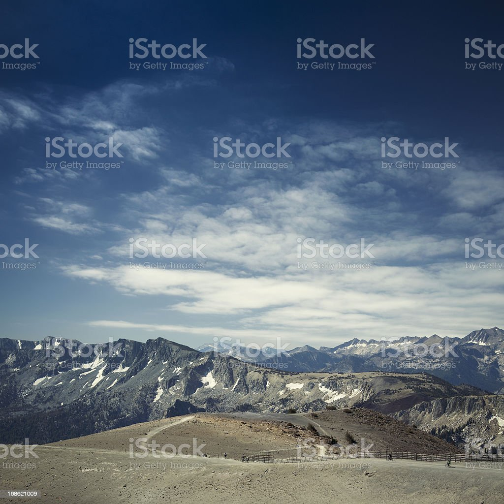Summer at Mammoth Mountain royalty-free stock photo