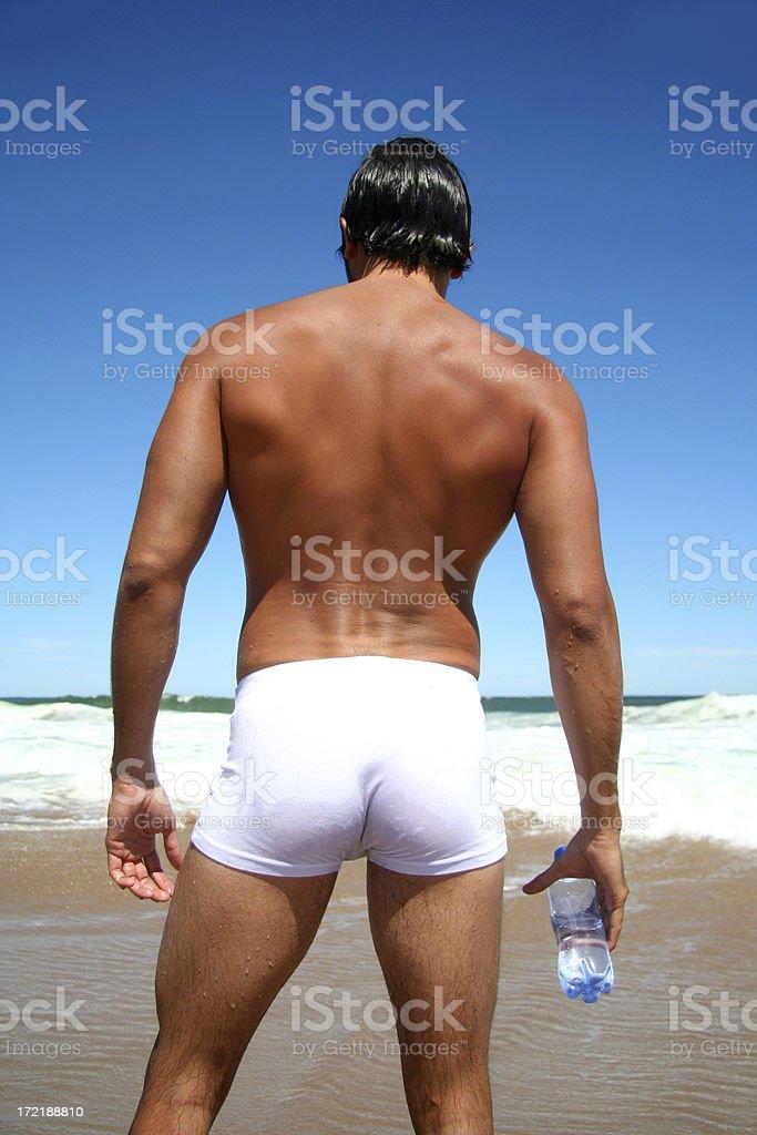 Summer Back royalty-free stock photo