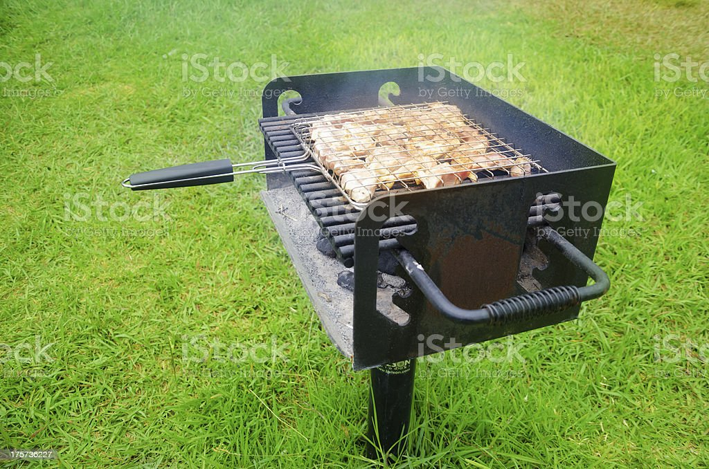 Summer barbecue royalty-free stock photo