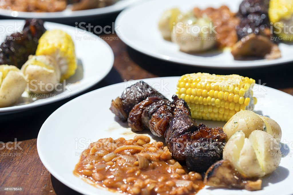 Summer Barbecue stock photo