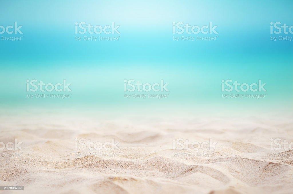 Summer beach background. stock photo