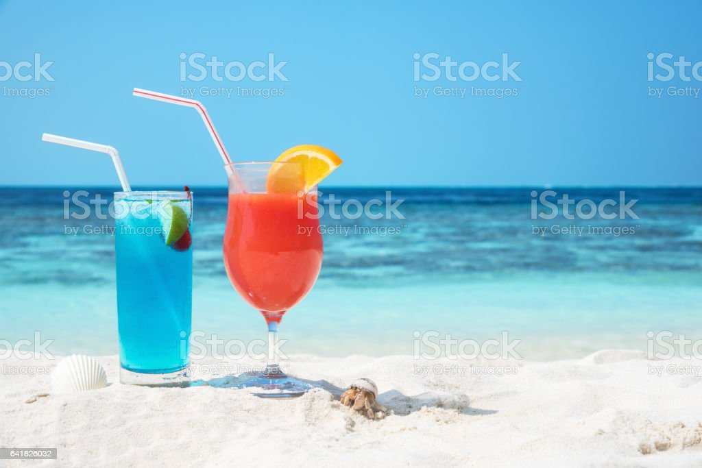 Summer beach holidays stock photo