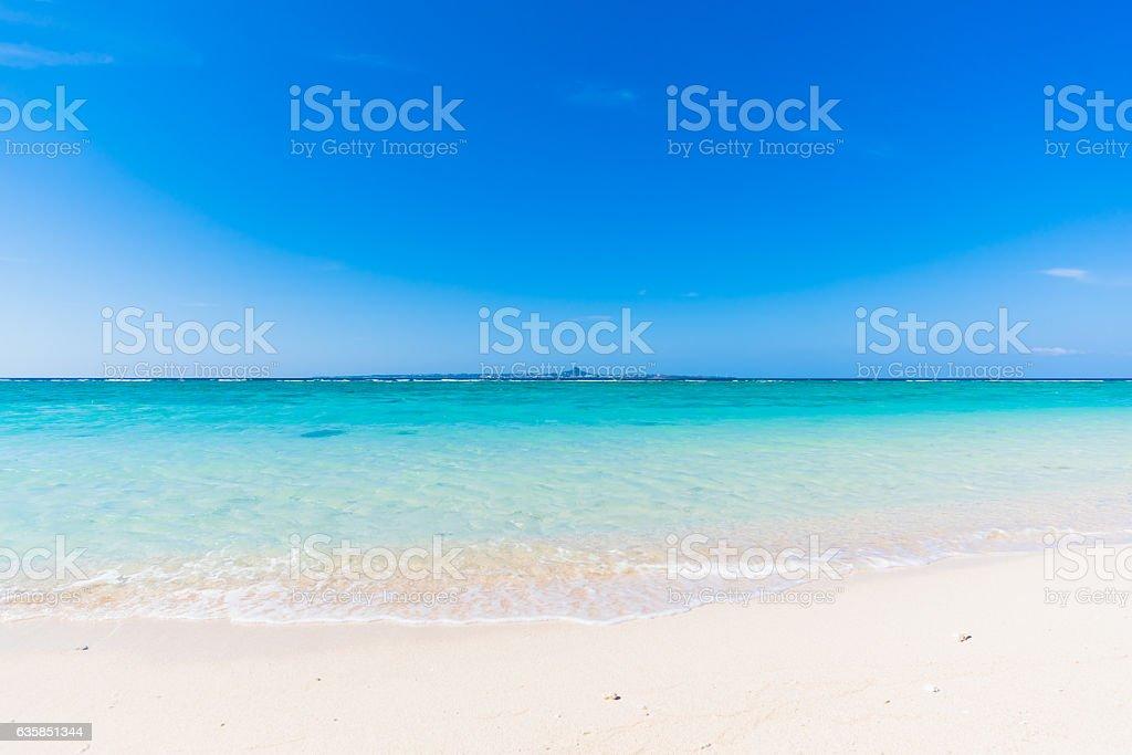 summer beach stock photo