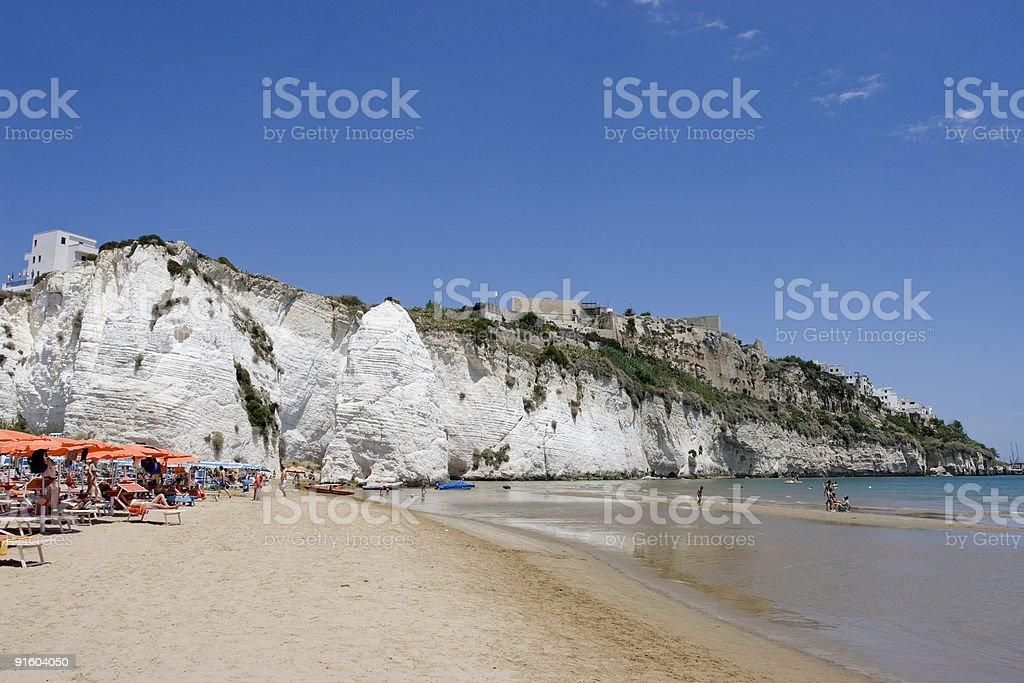 Summer Beach royalty-free stock photo