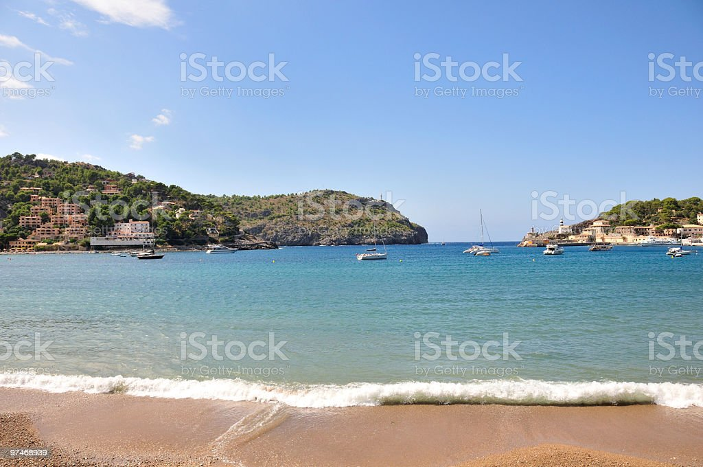 Summer Beach stock photo
