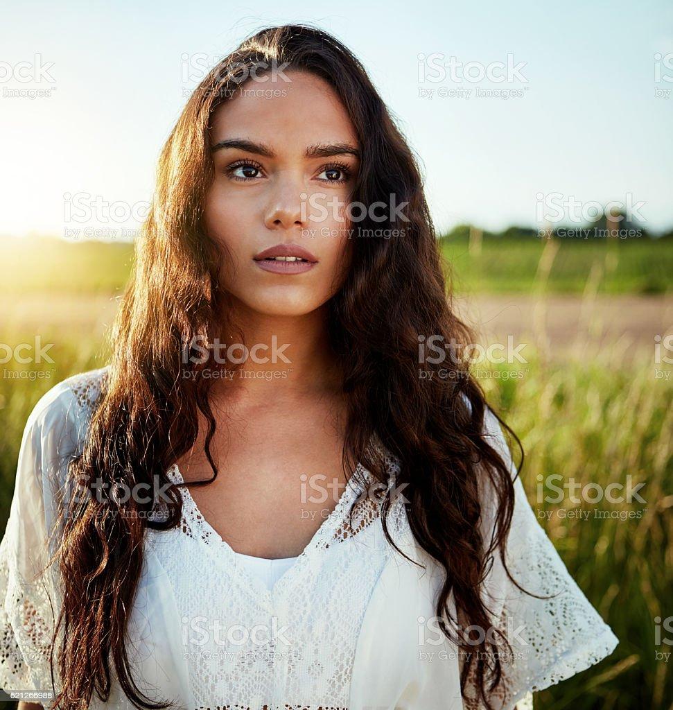 Summer beauty stock photo