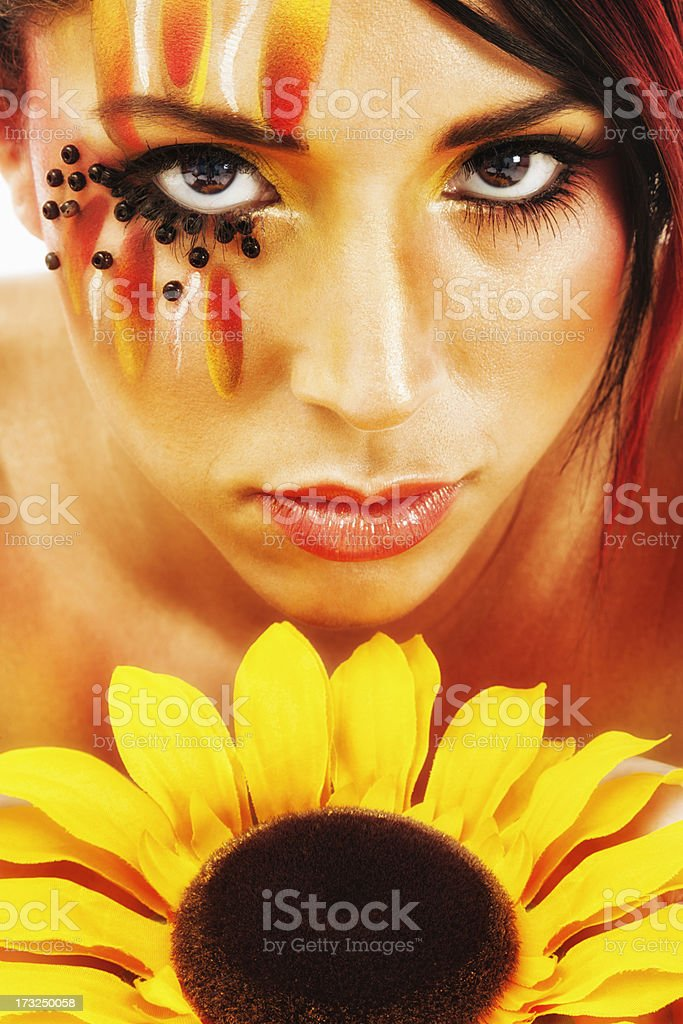Summer Beauty Portrait royalty-free stock photo