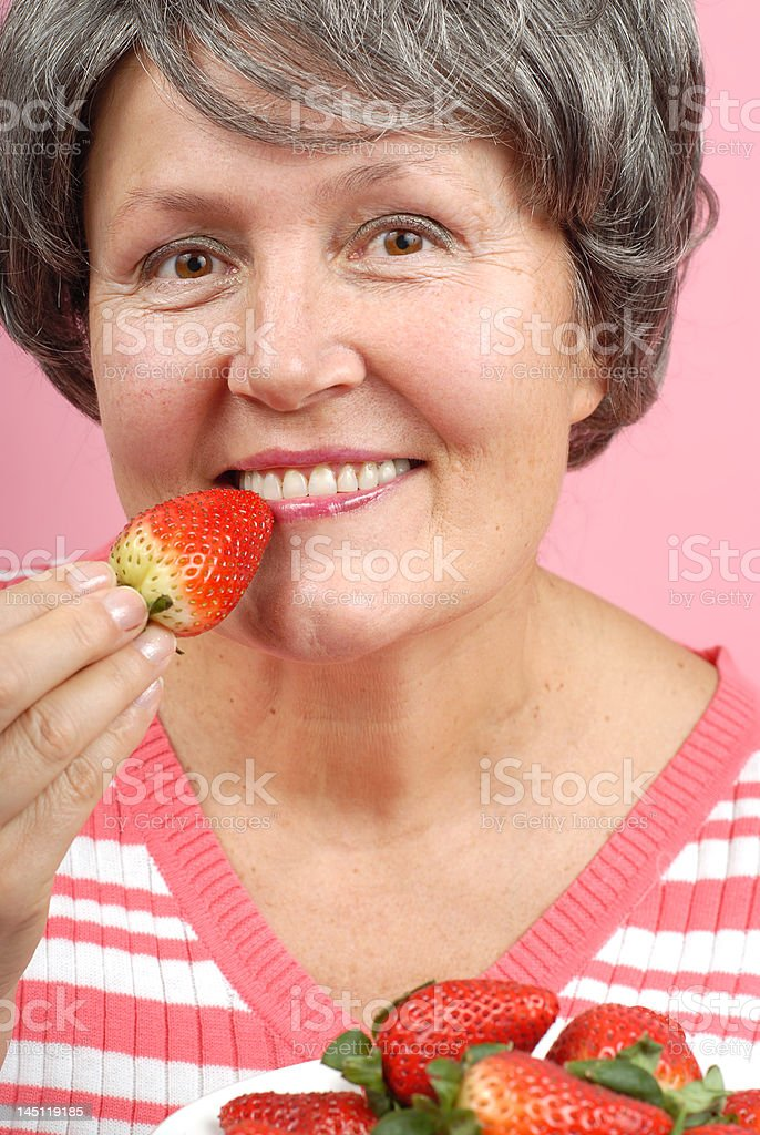 Summer berries royalty-free stock photo