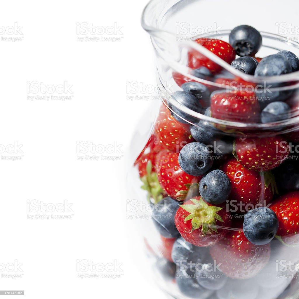 Frutas vermelhas de verão foto royalty-free