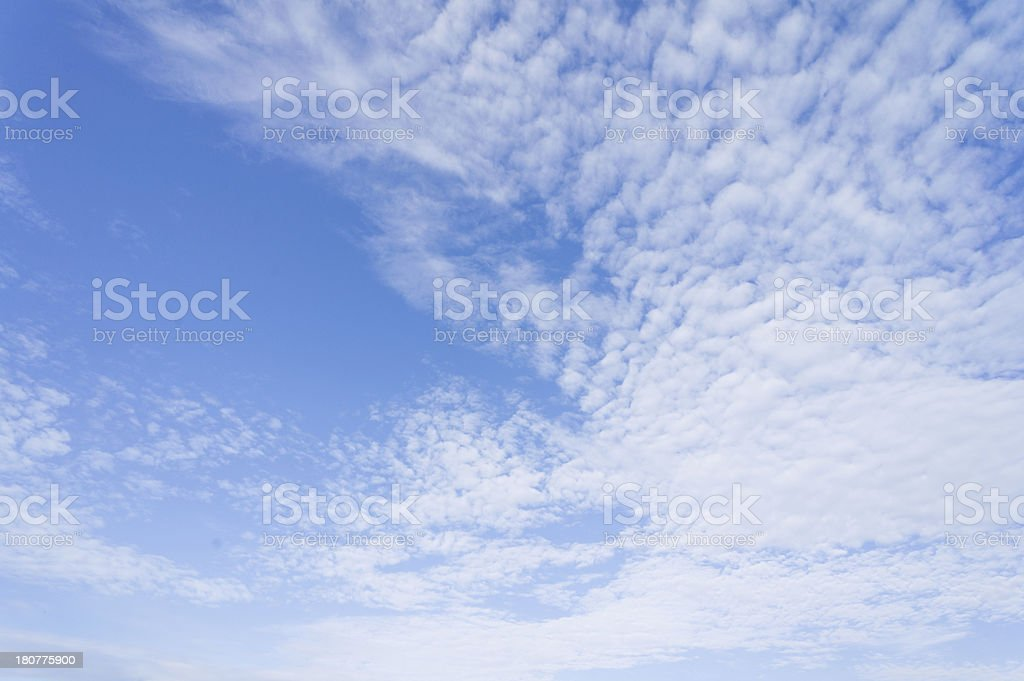 Summer blue sky royalty-free stock photo