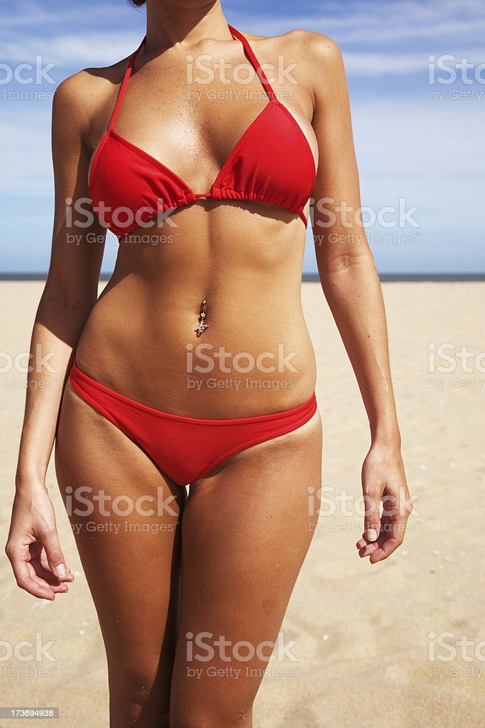 Summer Body royalty-free stock photo
