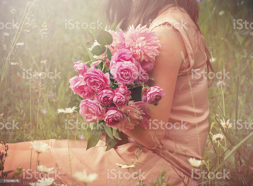 Summer bouquet stock photo