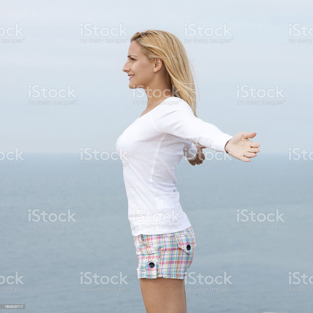 Summer Breeze stock photo