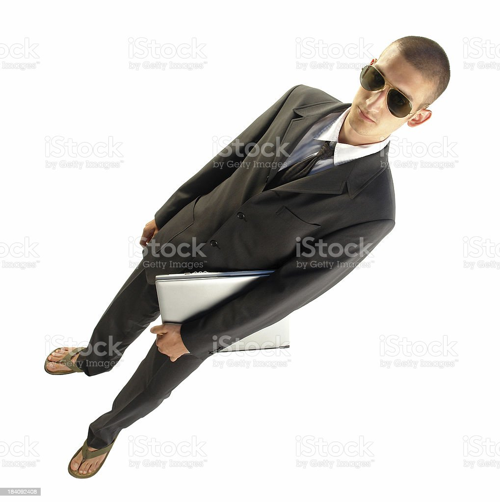 Summer business royalty-free stock photo