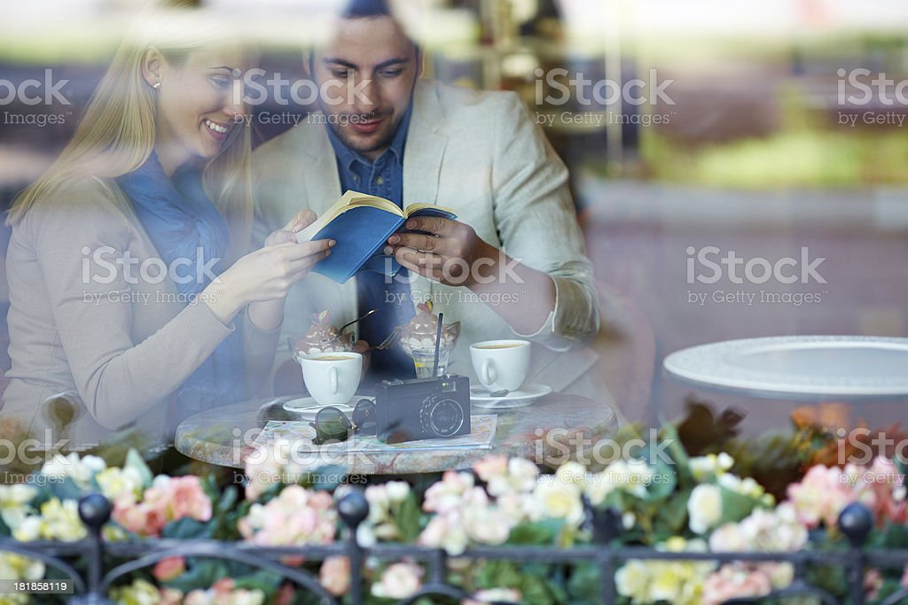 Summer cafe stock photo