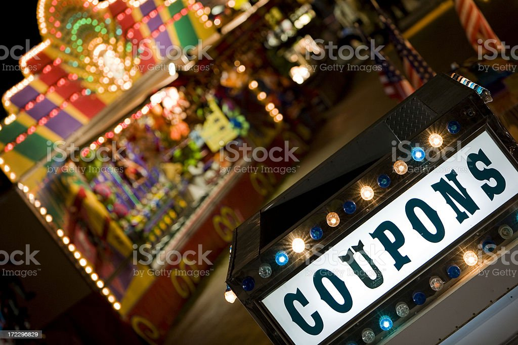 Summer Carnival stock photo