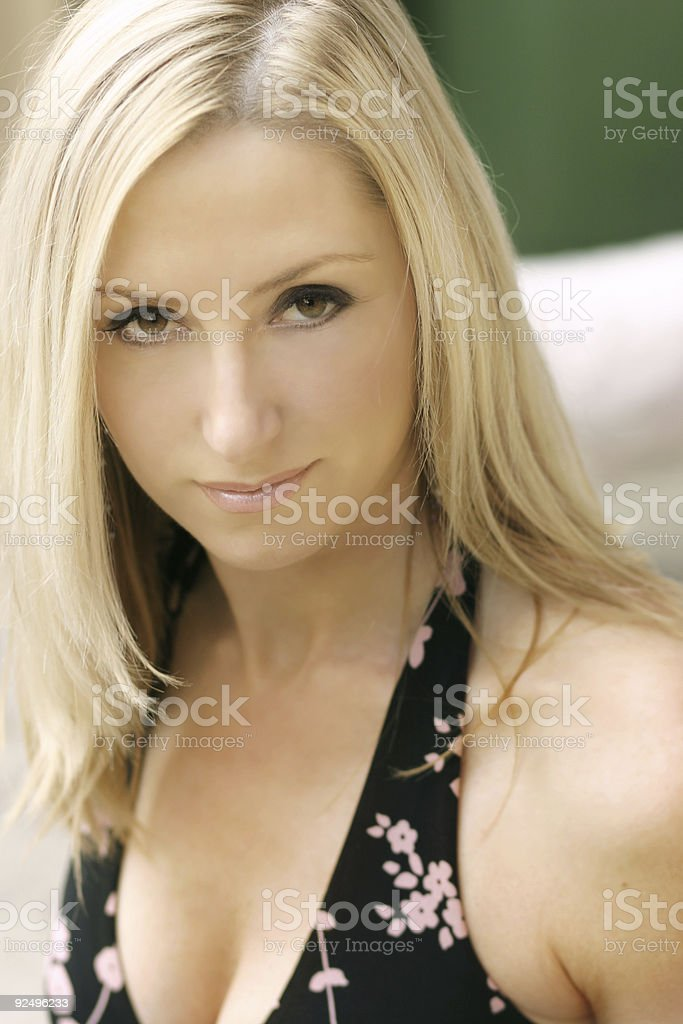 summer chic royalty-free stock photo