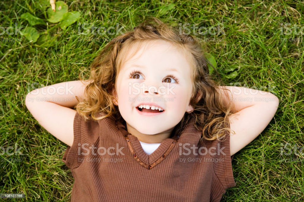 Summer Child stock photo