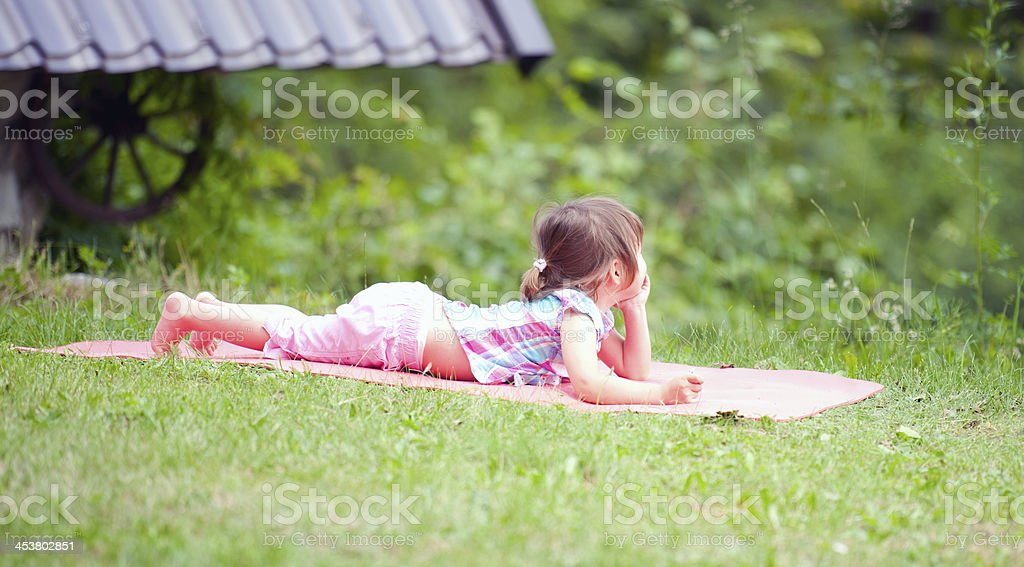 Summer Child royalty-free stock photo