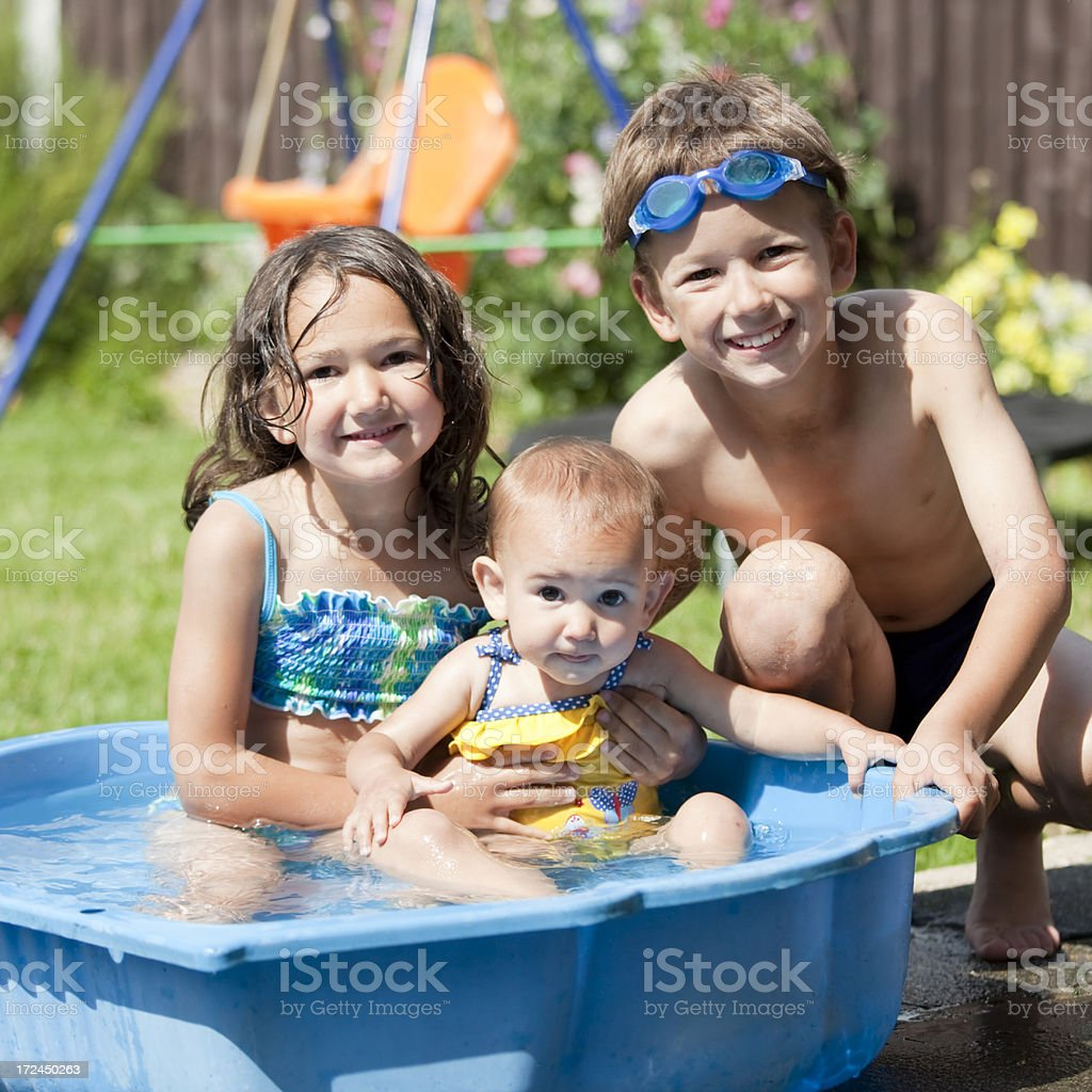Summer children royalty-free stock photo