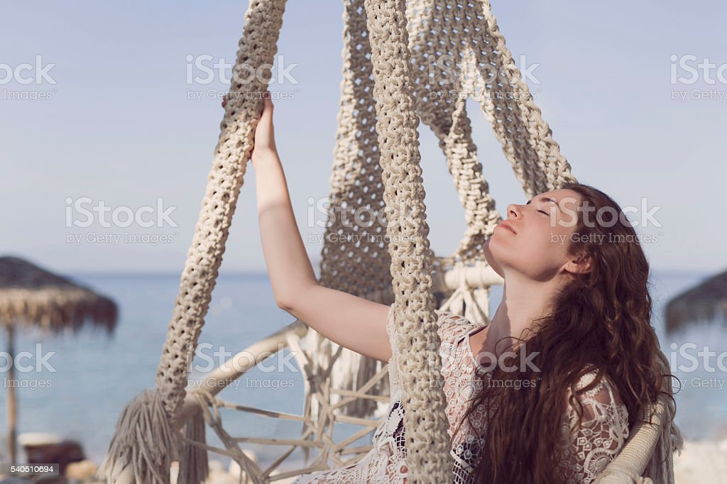 Summer Chill stock photo