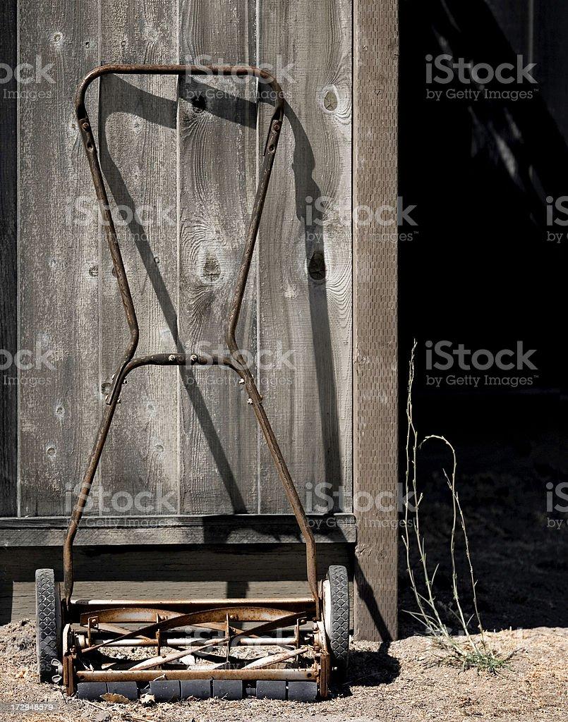 Summer Chores stock photo