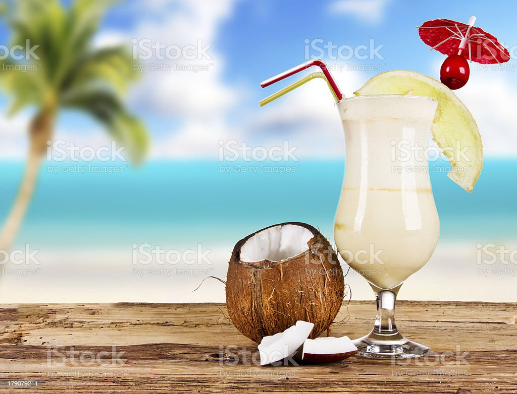 SUmmer cocktails royalty-free stock photo