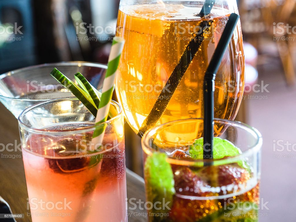 Summer Coctails stock photo