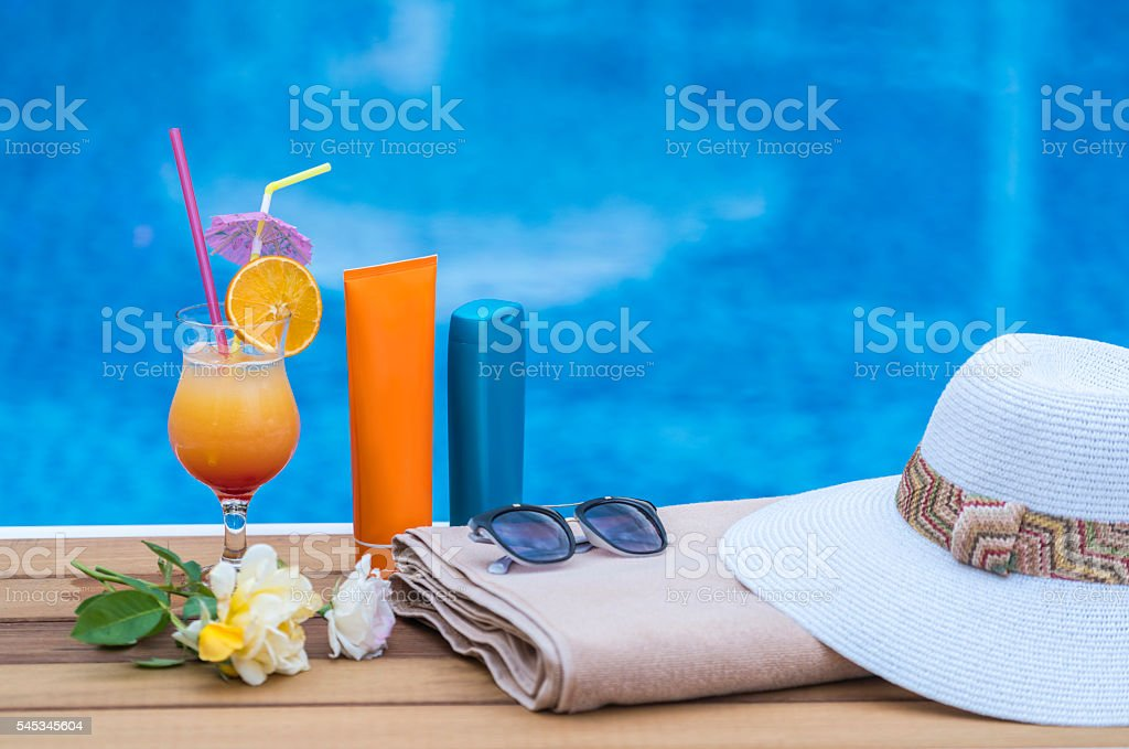 Summer Concept stock photo