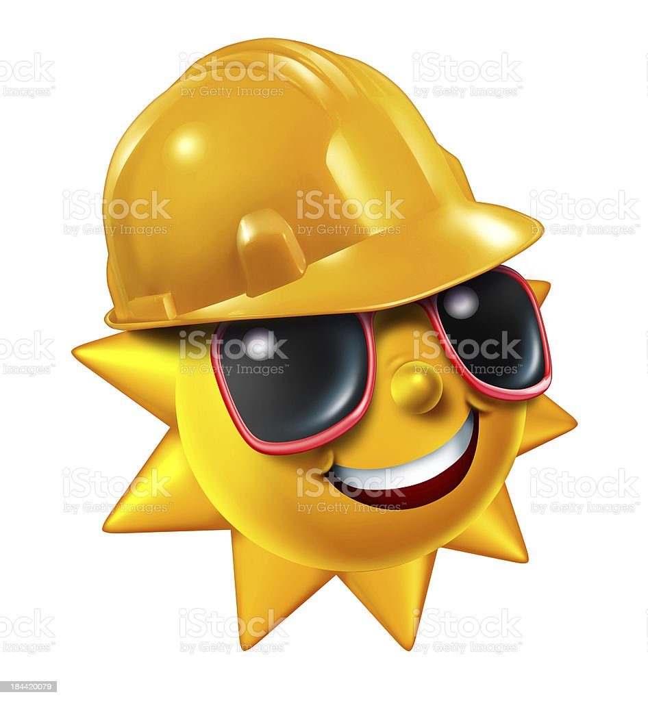 Summer Construction royalty-free stock photo