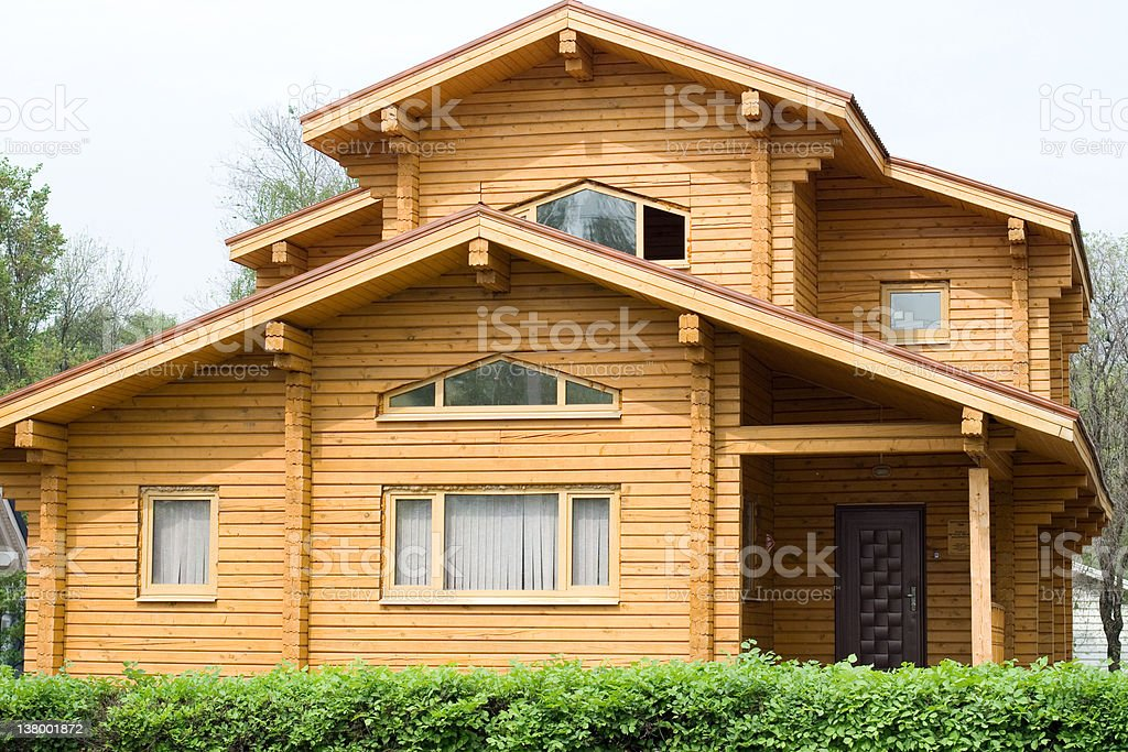 Summer cottage stock photo