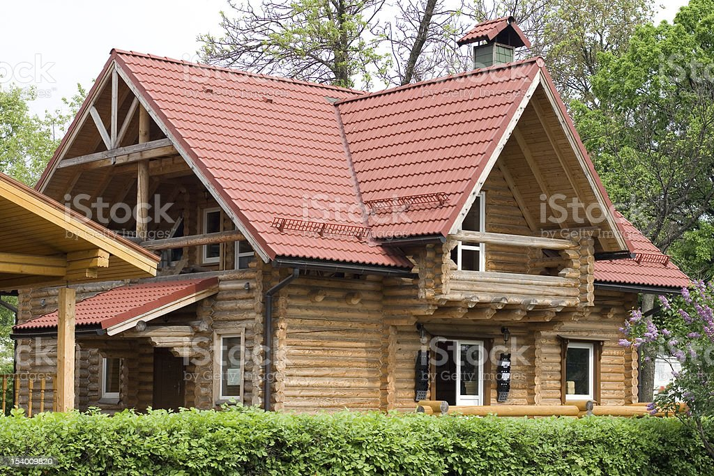 Summer cottage royalty-free stock photo
