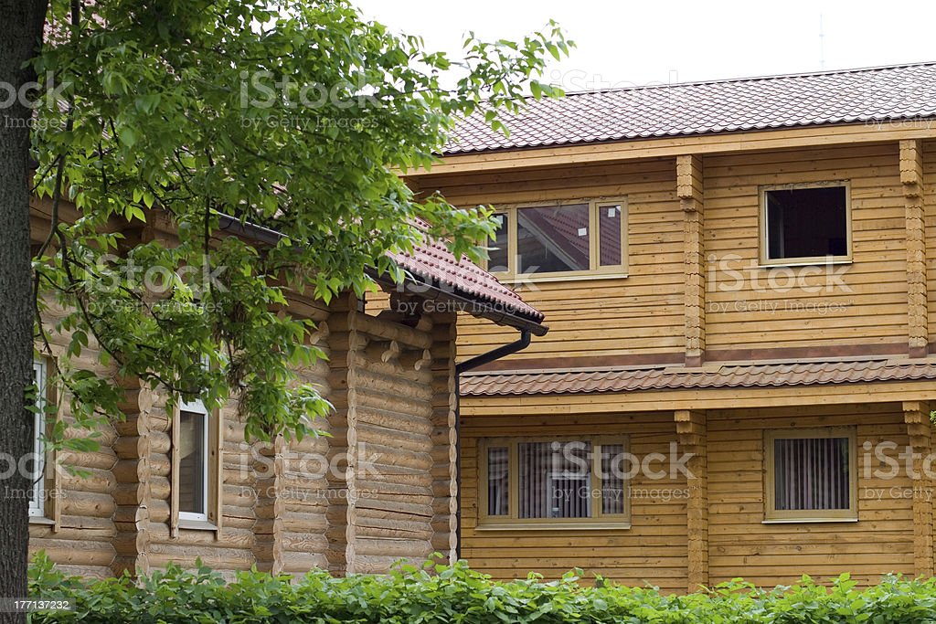 Summer cottages royalty-free stock photo