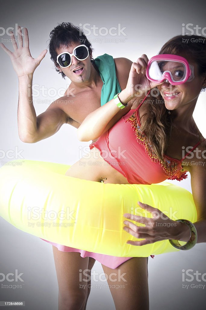 Summer Couple royalty-free stock photo