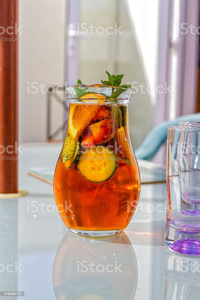 Summer Cup stock photo