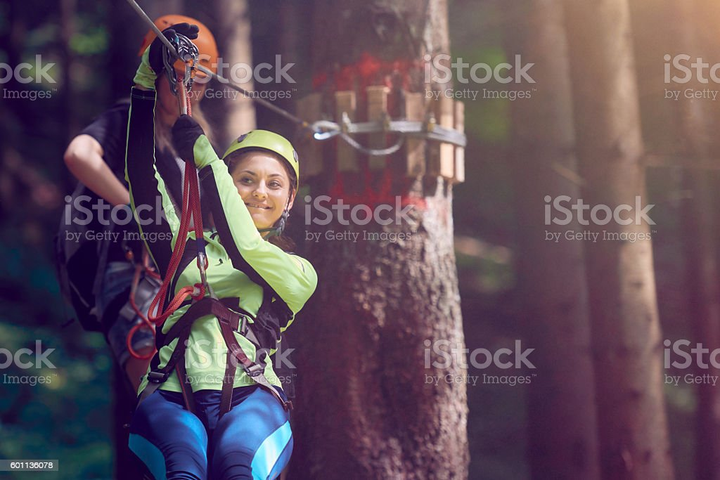 summer day with outdoor activities stock photo