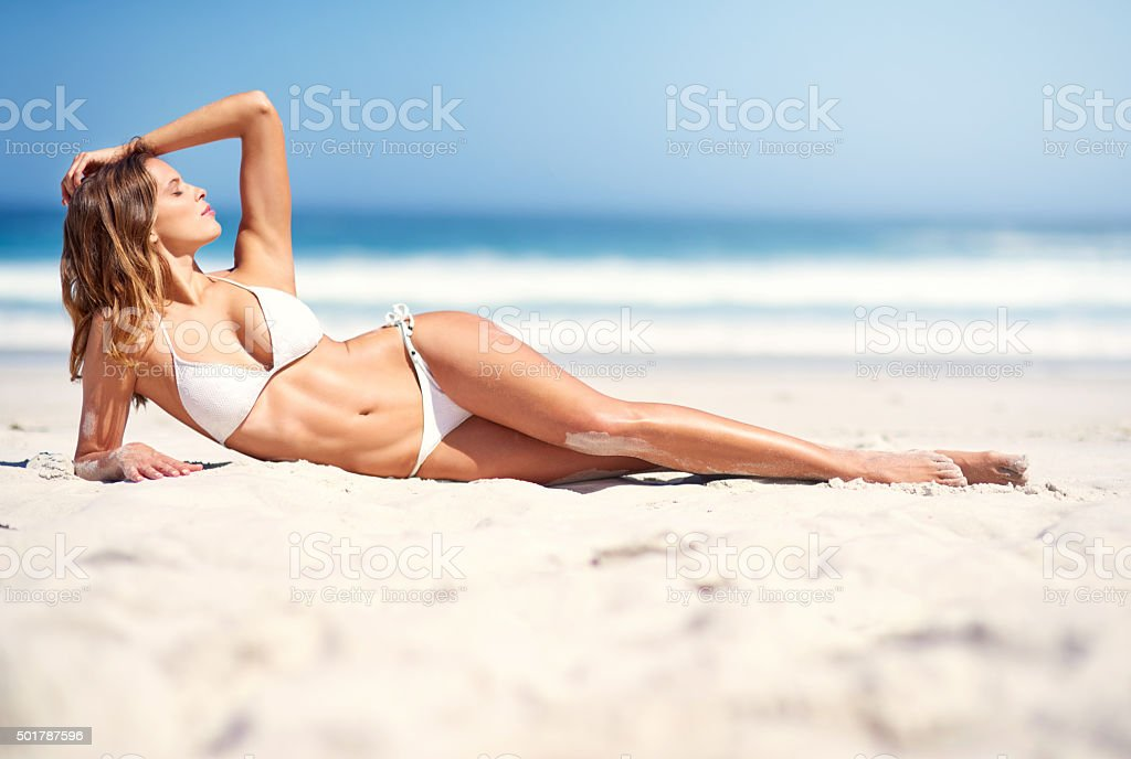 Summer days are here stock photo