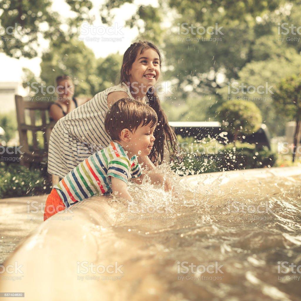 Summer days stock photo
