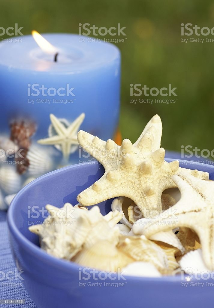 Summer decorations stock photo