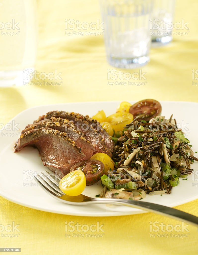 Summer Dinner royalty-free stock photo