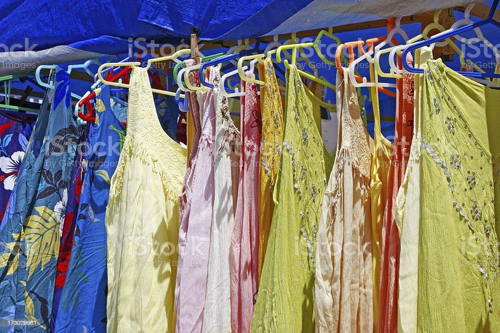 Summer dresses royalty-free stock photo