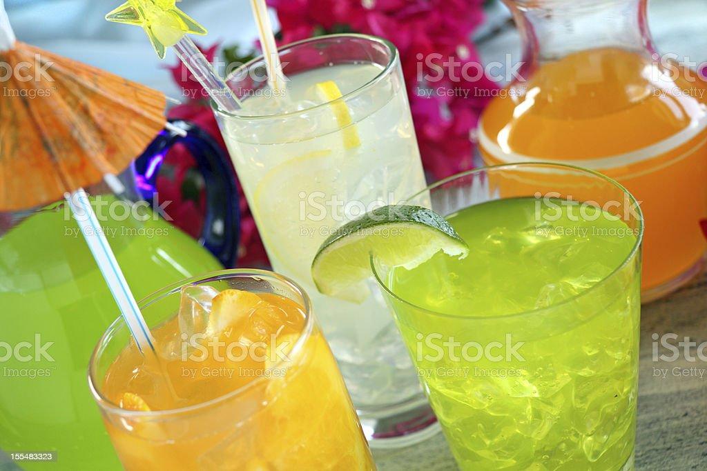 Summer Drinks royalty-free stock photo
