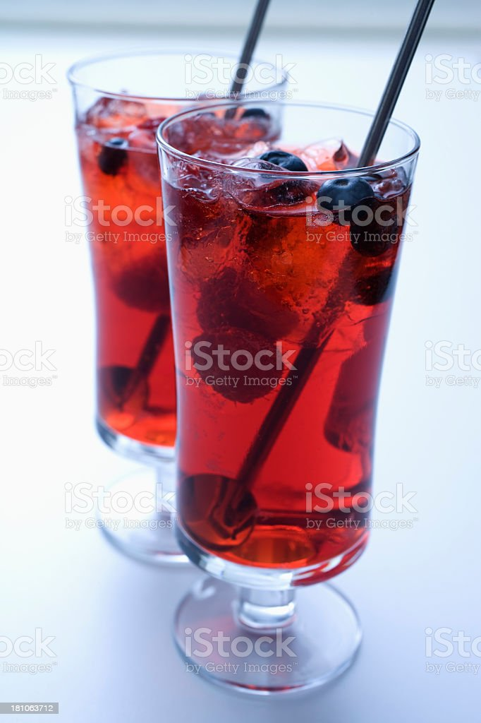 Summer drinks stock photo